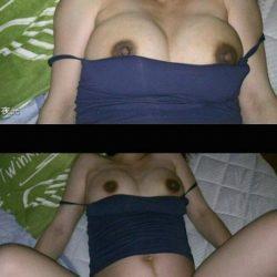 30代妊婦姿の奥様がヌード姿になった画像がたまらんエロさ[14枚]