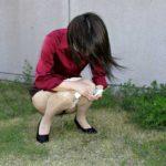 アラフォーの素人おばさんが露出放尿で感じちゃう画像って必ず抜けるよね[15枚]