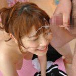 色っぽい人妻奥さまが顔射されてる画像で、まったりシコシコ[34枚]