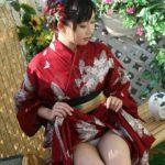 若人妻が着物でエッチなサービスしてくれる画像が即ヌキ確実ww[32枚]