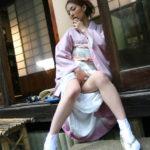 いい感じの若人妻が着物でめっちゃエロくなってる画像がマジエロ過ぎ[32枚]