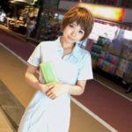 【画像+動画】駅近くの道で知り合った色気のある看護婦お姉さんがエッチな姿になった画像まとめ[25枚]